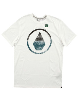 Volcom Canvas Stone T Shirt in White