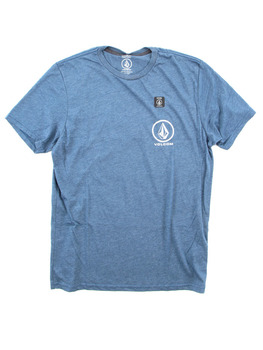 Volcom Forever Stone T Shirt in Airforce Blue