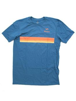 RVCA VA Horizon T Shirt in Mallard Blue