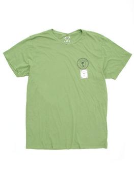 Catch Surf Circle Script T Shirt in Tea Green