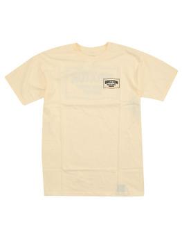 Brixton Brillo T Shirt in Off White