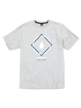 Volcom Chow T Shirt in Heather Grey