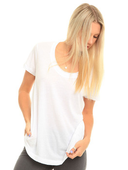 Volcom Scoopa Diver T Shirt in White