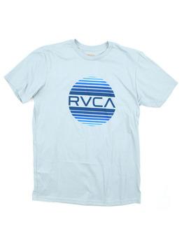 RVCA Sanborn Gradient T Shirt in Arona Blue