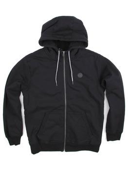 Volcom Single Stone Lined Zip Hoodie in Black