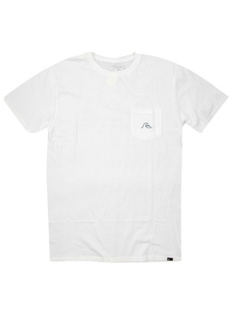 Quiksilver Be Square T Shirt in Bright White.