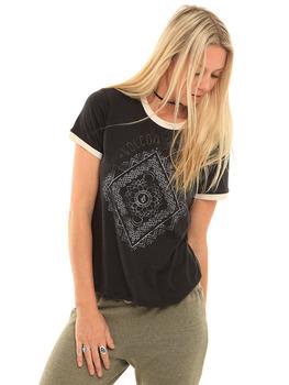 Volcom Henna Arch T Shirt in Black