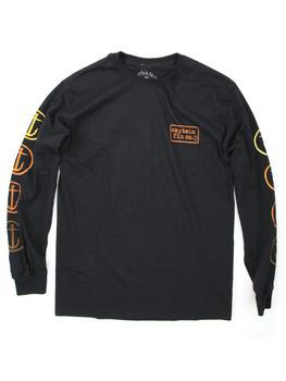 Captain Fin Co. Anchor Sleeves Long Sleeve Shirt in Black