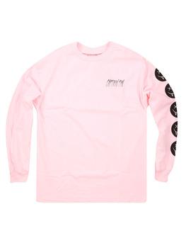 Captain Fin Co. Vamp Smile Long Sleeve T Shirt in Light Pink
