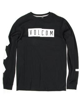 Volcom Shifty Long Sleeve Shirt in Black