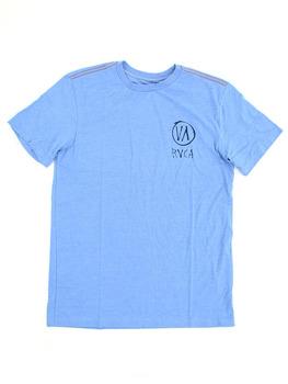 RVCA Roughy T Shirt in Aruba Blue