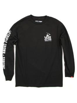 Vans 2016 VTCS Poster L/S T Shirt in Black