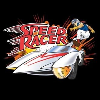 Speed Racer Jump in the Car