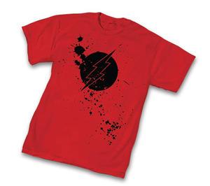 Flash Splatter Logo Red