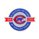 """""""2016 Chicago Cubs """"""""A Century of Cubs At Wrigley Field"""""""" 100th Anniversary Jersey"""""""