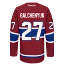 Alex Galchenyuk Montreal Canadiens Reebok Premier Replica Home NHL Hockey Jersey