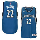Andrew Wiggins Minnesota Timberwolves NBA Swingman Road Replica Jersey - Blue