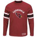 Arizona Cardinals 2016 Power Hit Long Sleeve NFL T-Shirt With Felt Applique