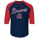 Atlanta Braves Cooperstown Don't Judge 3/4 Raglan T-Shirt