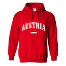 Austria MyCountry Pullover Arch Hoody (Red)