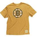 Boston Bruins Better Logo Fitted Super Soft T-Shirt (Gold)