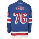 Brady Skjei New York Rangers Reebok Premier Replica Home NHL Hockey Jersey