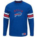 Buffalo Bills 2016 Power Hit Long Sleeve NFL T-Shirt With Felt Applique