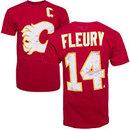 Calgary Flames Theo Fleury Vintage NHL Alumni T-Shirt