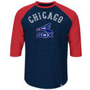 Chicago White Sox Cooperstown Don't Judge 3/4 Raglan T-Shirt