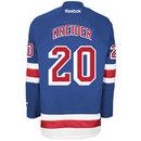 Chris Kreider New York Rangers Reebok Premier Replica Home NHL Hockey Jersey