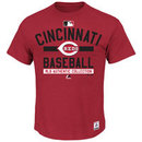Cincinnati Reds Authentic Collection Team Property Heathered T-Shirt