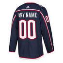 Columbus Blue Jackets ANY NAME adidas adizero NHL Authentic Pro Home Jersey