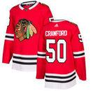 Corey Crawford Chicago Blackhawks adidas adizero NHL Authentic Pro Home Jersey