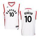 DeMar DeRozan Toronto Raptors NBA Swingman Replica Jersey - White