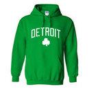 Detroit Irish Pride Pullover Hoodie (Kelly)