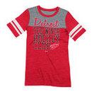 Detroit Red Wings Women's Affiliation Tri-Blend Sporty T-Shirt