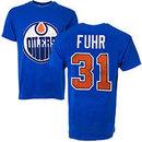 Edmonton Oilers Grant Fuhr Vintage NHL Alumni T-Shirt