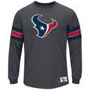 Houston Texans Team Spotlight III Long Sleeve NFL T-Shirt With Felt Applique