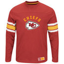 Kansas City Chiefs 2016 Power Hit Long Sleeve NFL T-Shirt With Felt Applique