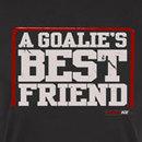 KractIce Goalie's Best Friend Fine Jersey Vintage T-Shirt (Black)