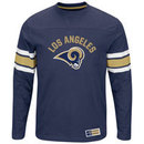 Los Angeles Rams 2016 Power Hit Long Sleeve NFL T-Shirt With Felt Applique