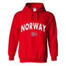 Norway MyCountry Pullover Arch Hoody (Red)