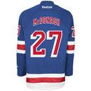 Ryan McDonagh New York Rangers Reebok Premier Replica Home NHL Hockey Jersey
