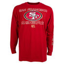 San Francisco 49ers YOUTH Long Snap Long Sleeve T-Shirt