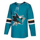 San Jose Sharks adidas adizero NHL Authentic Pro Home Jersey