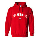 Switzerland MyCountry Pullover Arch Hoody (Red)