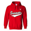 Switzerland MyCountry Pullover Script Hoody (Red)