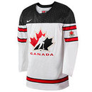 Team Canada IIHF Official 2017-18 Replica White Hockey Jersey
