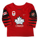 Team Canada IIHF Official 2018 INFANT Nike Olympic Replica Red Hockey Jersey