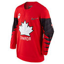 Team Canada IIHF Official 2018 Nike Olympic Replica Red Hockey Jersey